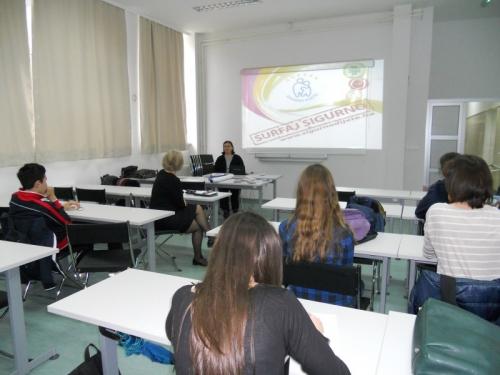 Prezentacija u II Gimnaziji Sarajevo o sigurnom korištenju interneta